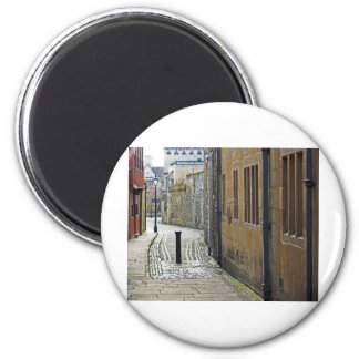 Oxford Streets, UK 2 Inch Round Magnet