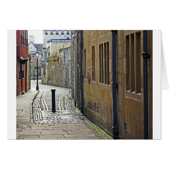 Oxford Streets, UK Card