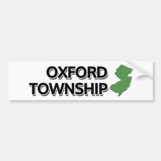 Oxford Township, New Jersey Bumper Sticker