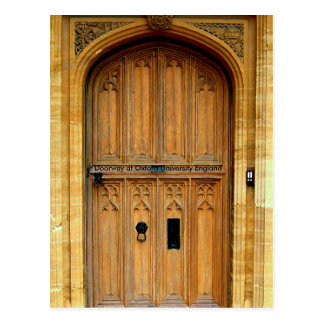 Oxford University image for postcard