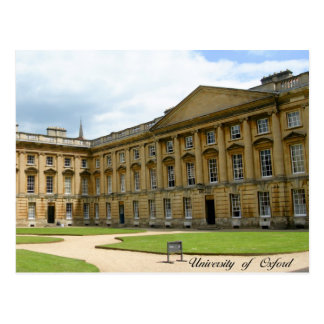 Oxford University postcard
