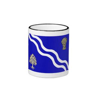 Oxfordshire Flag Ringer Coffee Mug