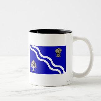 Oxfordshire Flag Two-Tone Coffee Mug