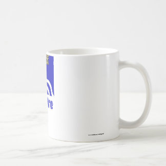 Oxfordshire Flag with Name Classic White Coffee Mug