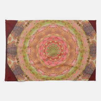 Oxidado-Mandala/Rost-Arte Toallas De Cocina