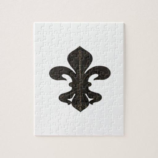 Oxidado rústico de Flor New Orleans de la flor de  Puzzles