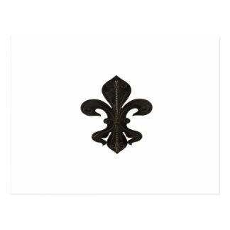 Oxidado rústico de Flor New Orleans de la flor de Postal