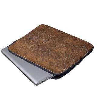 Oxidado viejo fundas computadoras