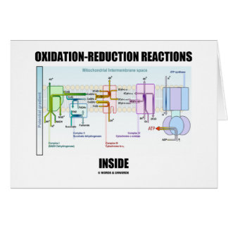 Oxidation-Reduction Reactions Inside Greeting Card