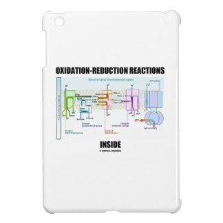 Oxidation-Reduction Reactions Inside iPad Mini Case
