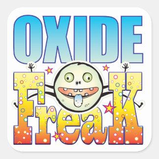 Oxide Freaky Freak Square Sticker