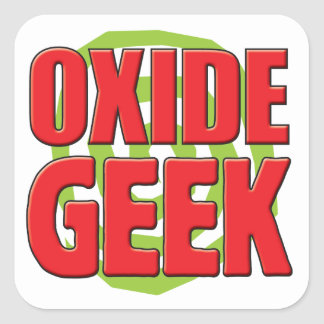 Oxide Geek Square Sticker