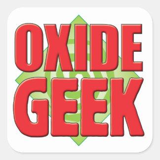 Oxide Geek v2 Square Sticker