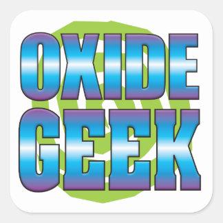 Oxide Geek v3 Square Sticker