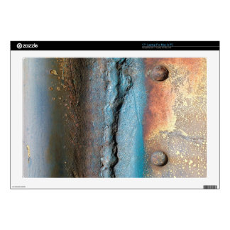 Oxidized Metal Laptop Skin