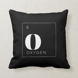 Oxígeno de //de la almohada de los elementos de