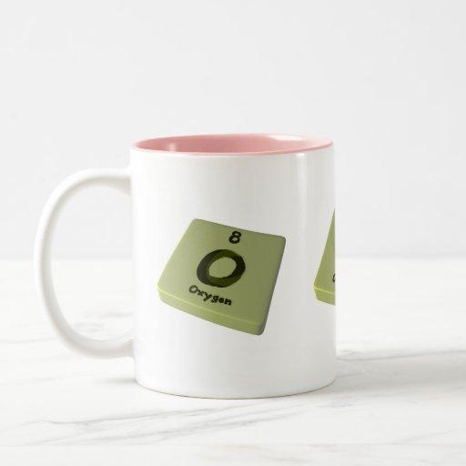 Oxígeno de O Tazas De Café
