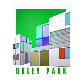 Oxley Park futuristic postcard