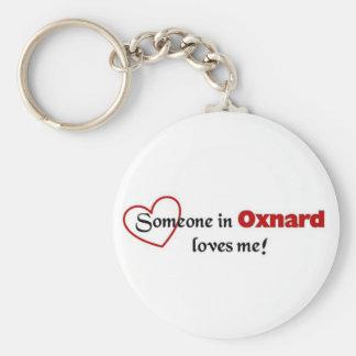 Oxnard Love Basic Round Button Keychain