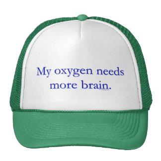 Oxy Brain Trucker Hat
