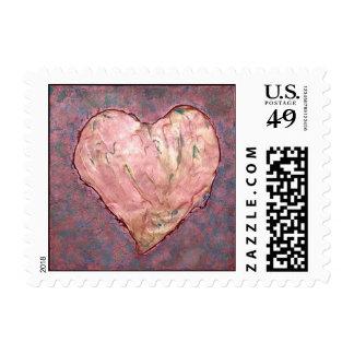 Oxydized love postage
