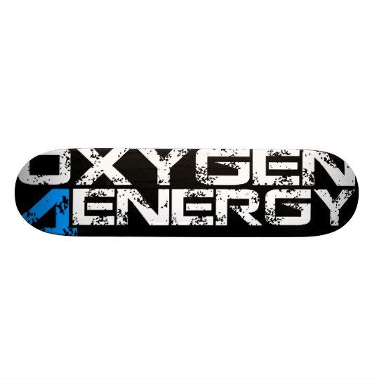 OXYGEN 4 ENERGY SKATEBOARD DECK