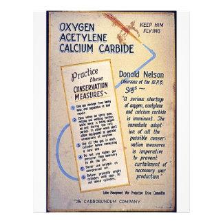 Oxygen Acetylene Calcium Carbide Flyer