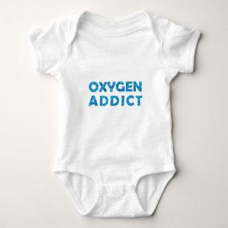 Oxygen addict tee shirt