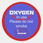 oxygen alert sticker