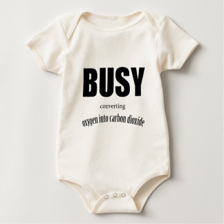 Oxygen and Carbon Dioxide Baby Bodysuit