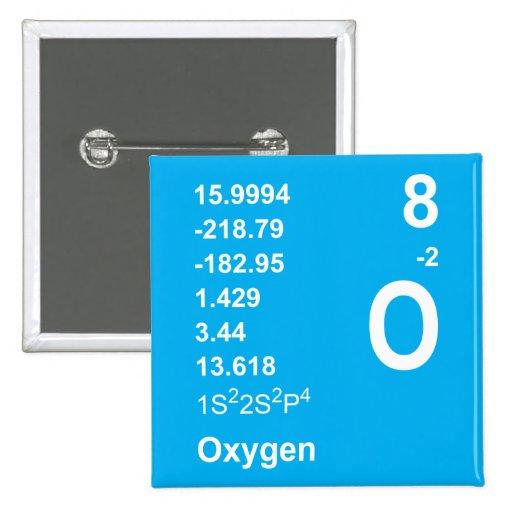 Oxygen Button (light on blue)