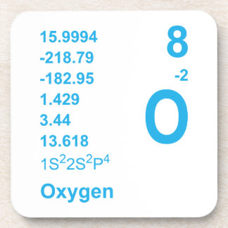 Oxygen Coasters (blue)