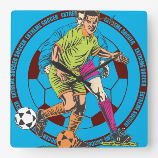 Oxygen Extreme Soccer Clock