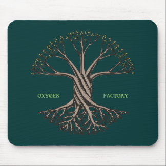 Oxygen Factory Mouse Pad
