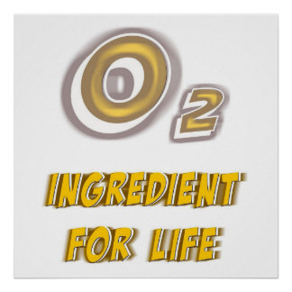 Oxygen for Life Poster