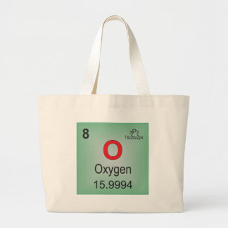 Oxygen Individual Element of the Periodic Table Tote Bags