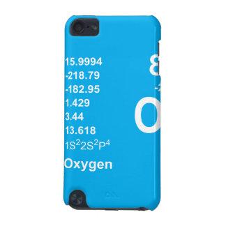 Oxygen iPod Touch Case (light on blue)