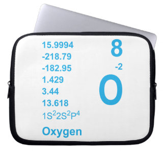 Oxygen Laptop Case (blue) Computer Sleeve