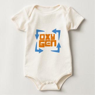OxyGen Logo Gear Baby Bodysuit