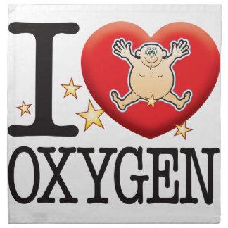 Oxygen Love Man Cloth Napkin