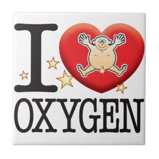 Oxygen Love Man Small Square Tile