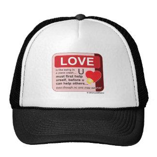 Oxygen Mask Trucker Hat