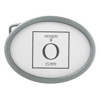 Oxygen Oval Belt Buckle