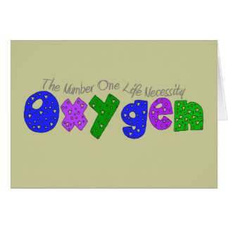 Oxygen Respiratory Therapist T-Shirts Gifts Greeting Cards