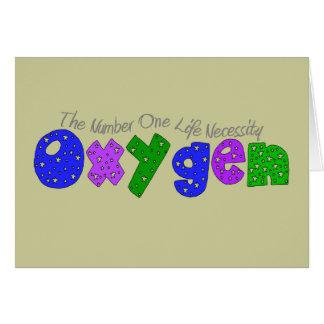 """Oxygen"" Respiratory Therapist T-Shirts & Gifts Card"