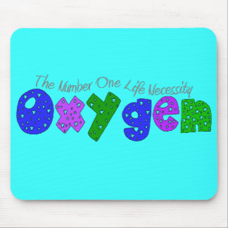"""Oxygen"" Respiratory Therapist T-Shirts & Gifts Mouse Pad"