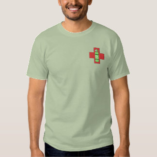 Oxygen Symbol Embroidered T-Shirt