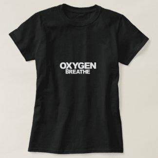 Oxygen - Woman's Black T-Shirt
