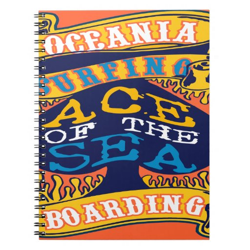 Oxygentees Ace of the Sea Notebooks