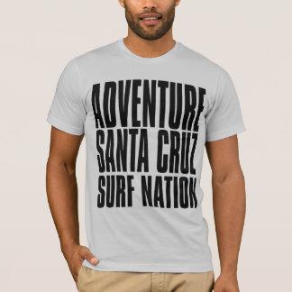 Oxygentees Adventure Santa Cruz Surf Nation T-Shirt